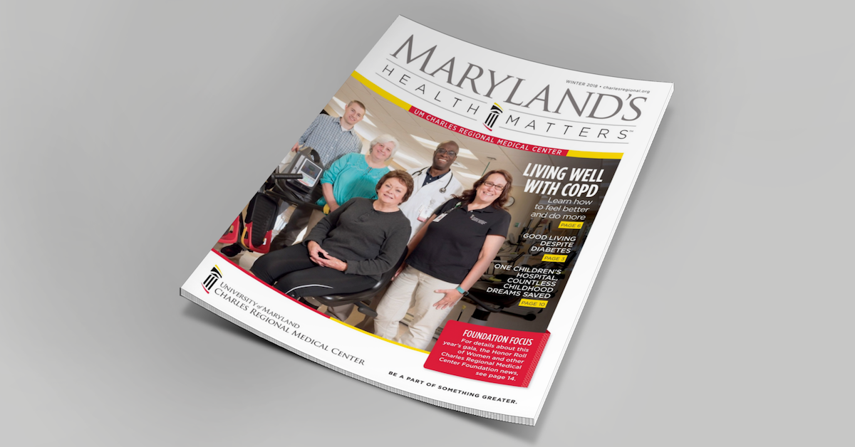 Maryland's Health Matters Cover