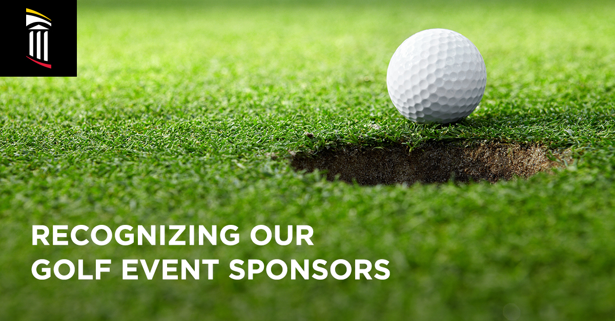 Recognizing Our Golf Event Sponsors