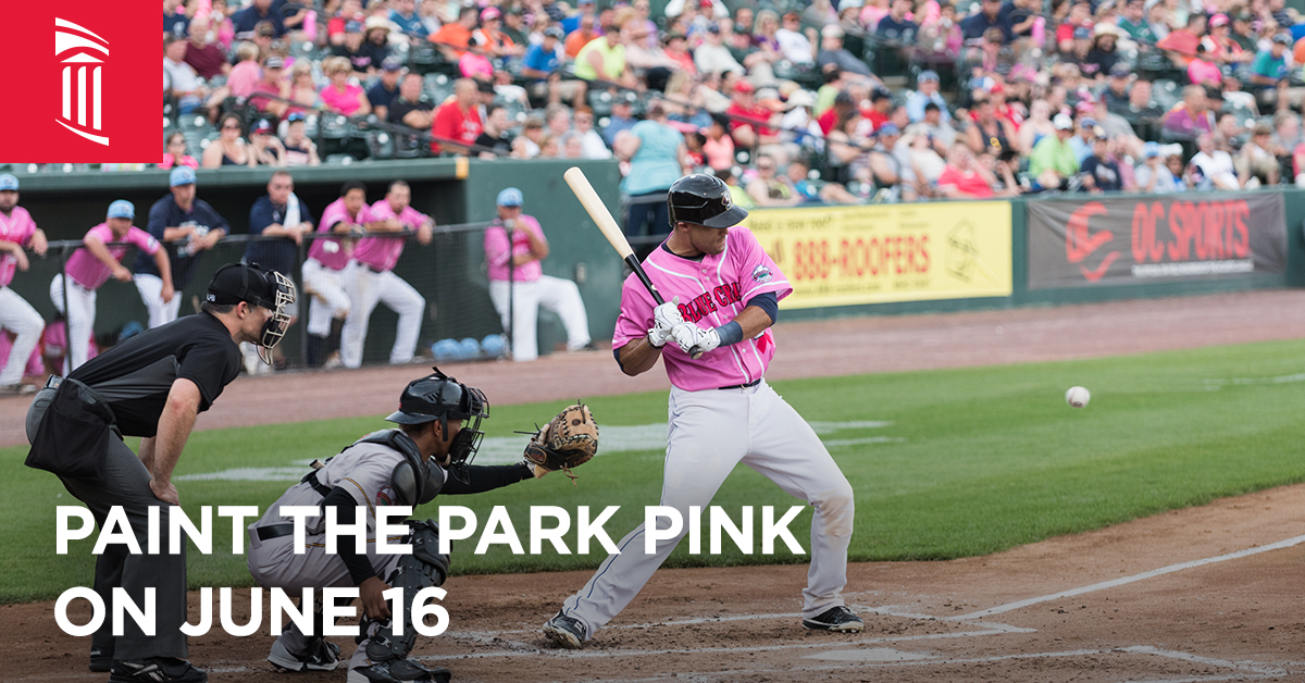 Paint the Park Pink on June 16