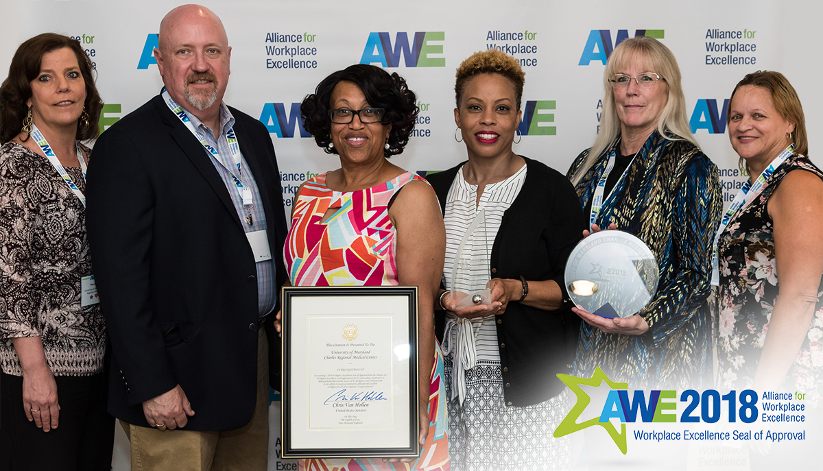Alliance for Workplace Excellence 2018 Award