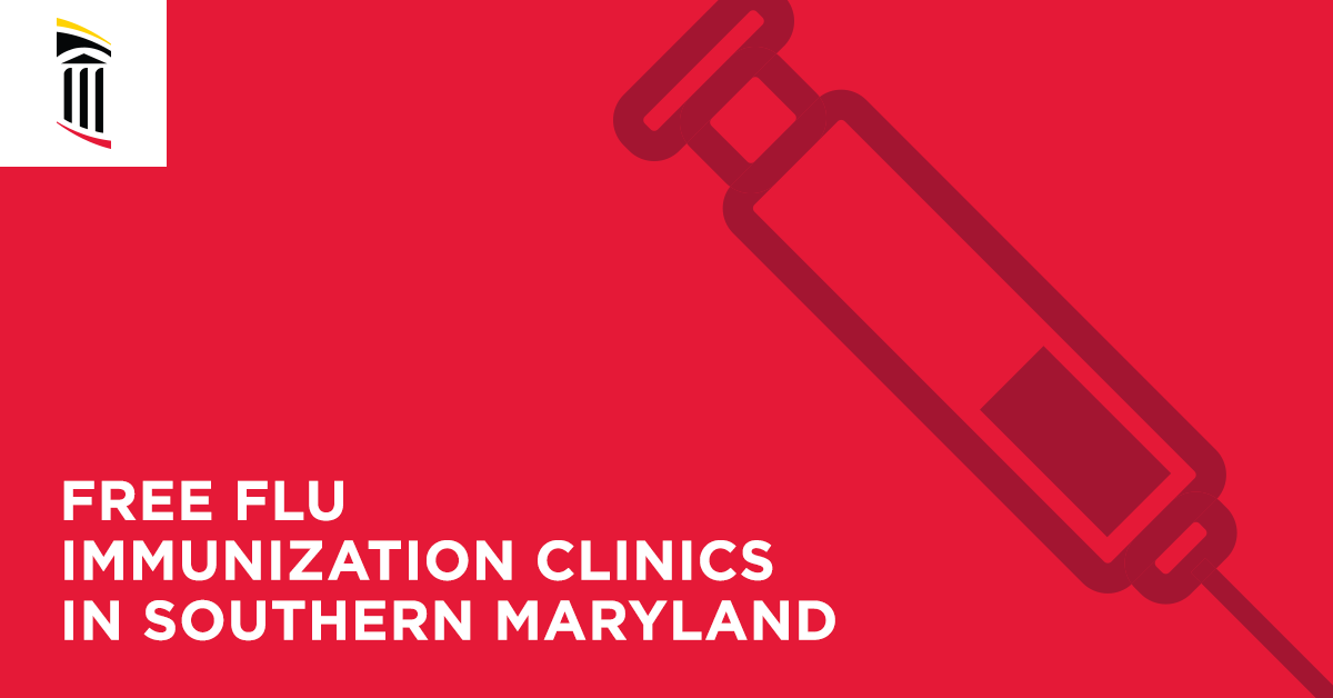 Free Flu Immunization Clinics in Southern Maryland