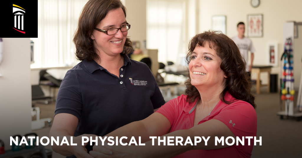 National Physical Therapy Month | Physical Therapist Assisting Patient