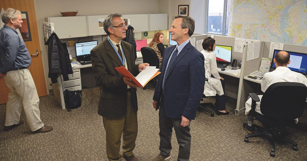 Dr. Weintraub and Dr. Welsh Photo