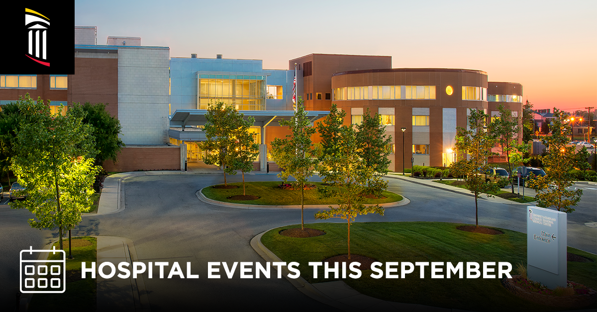 Hospital Events This September