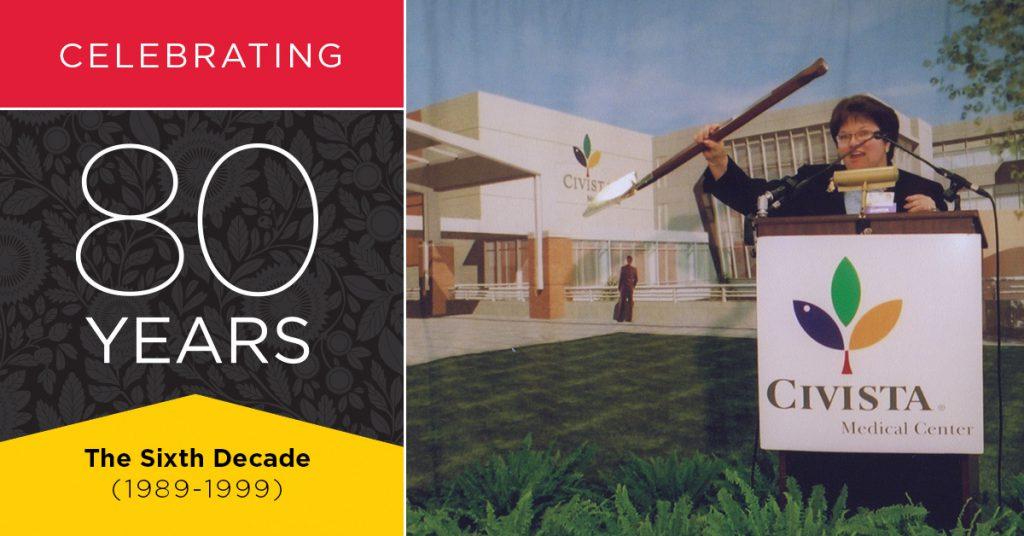 Celebrating 80 Years - The Sixth Decade
