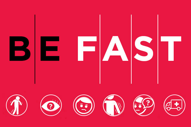 BE FAST - Stroke Prevention Graphic