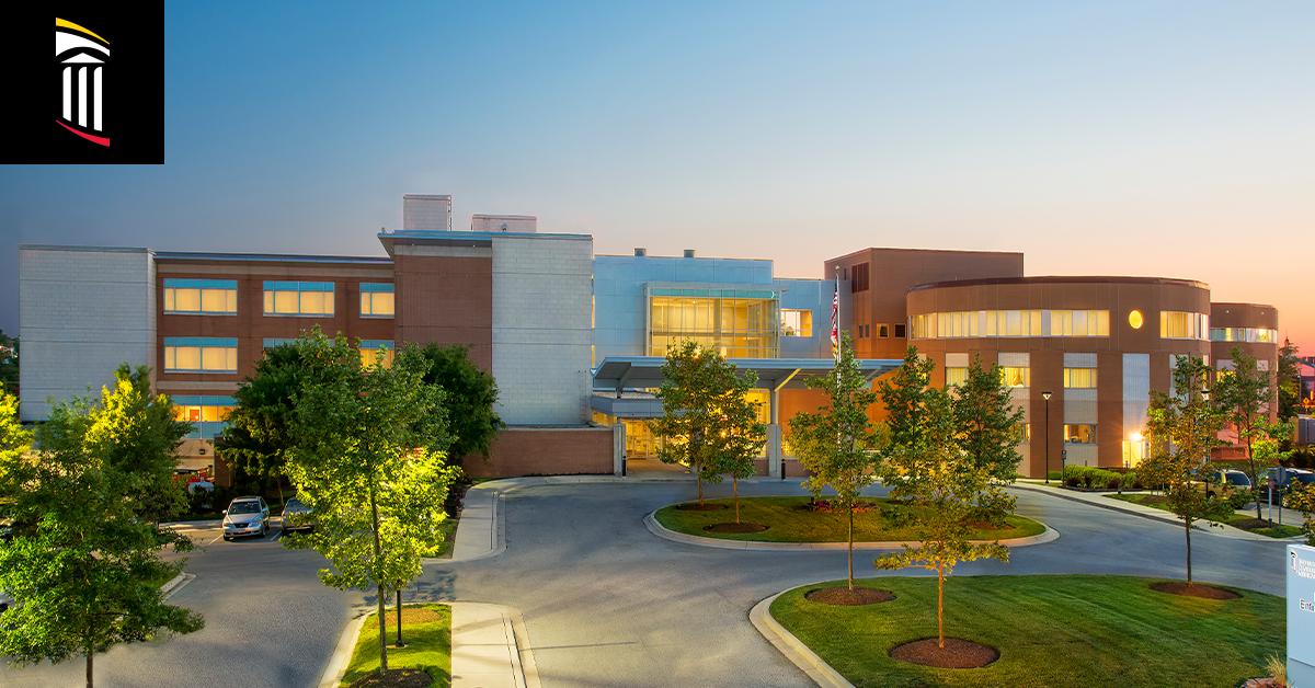 Photo of exterior of UM Charles Regional Medical Center